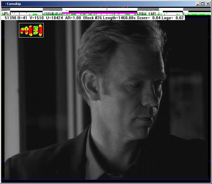 Comskip full screenshot