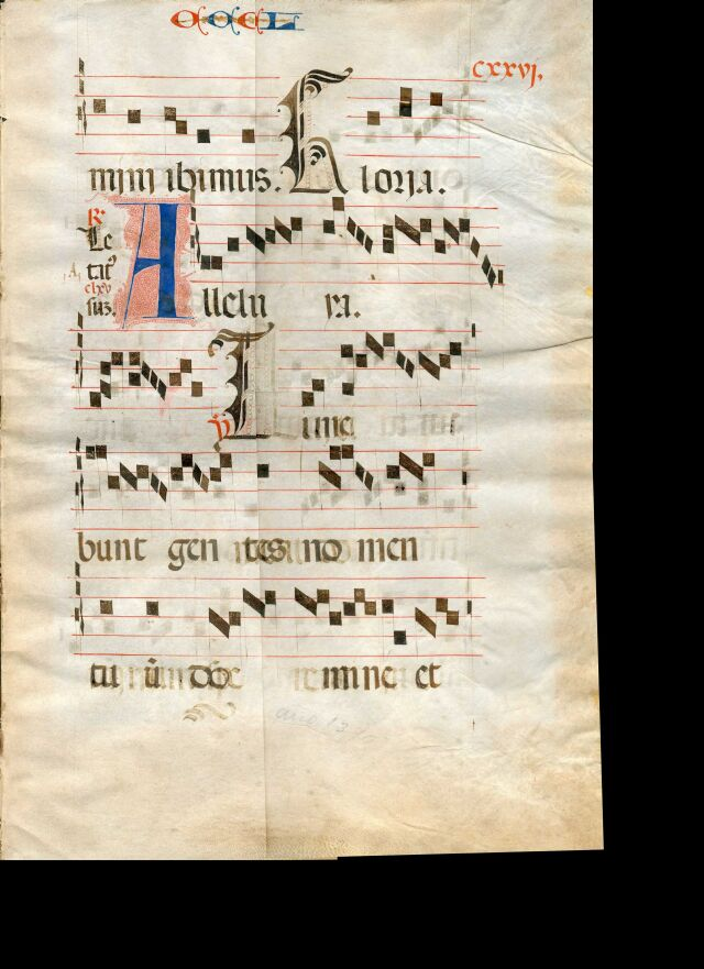 Exploring medieval music manuscripts